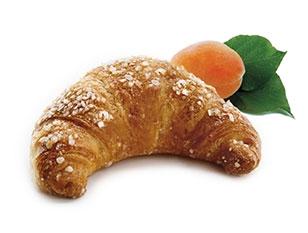 Cornetto vegano ok confettura albicocca