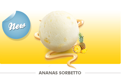ananas-sorbetto