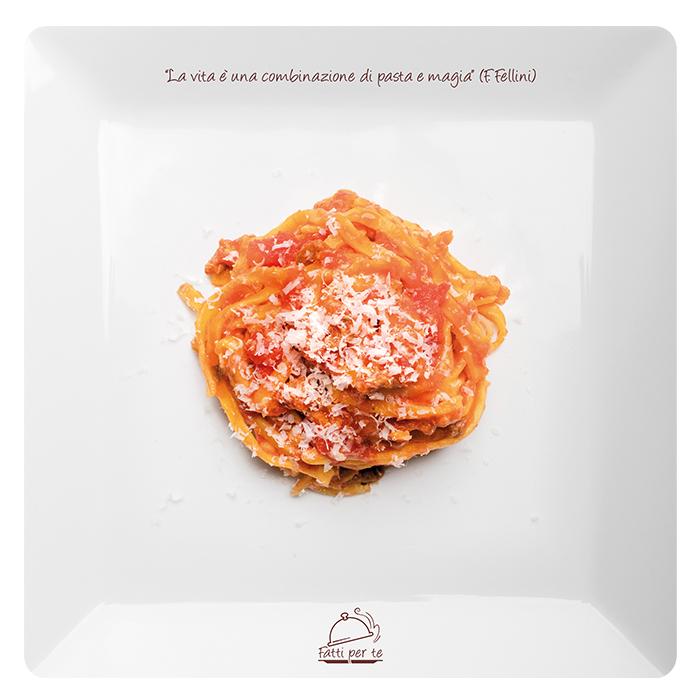 Pasta Fresca all'Uovo – Fettuccine al Ragù