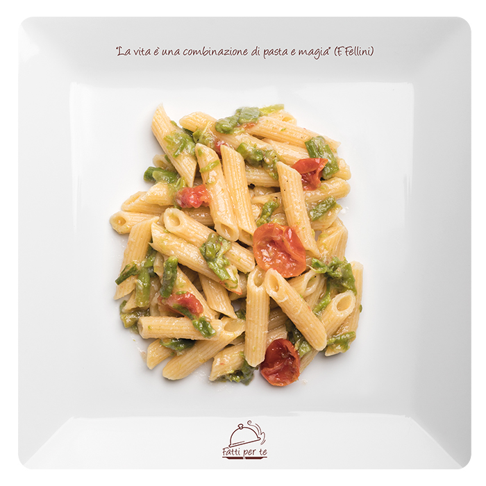 Linea Benessere Senza Glutine – Penne Asparagi e Pomodorini