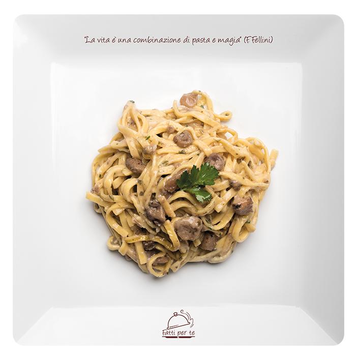 Pasta Fresca all'Uovo – Tagliatelle ai Funghi