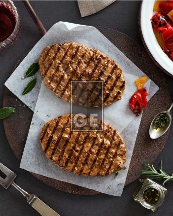 Hamburger di bovino grigliato 80 gr – cotto