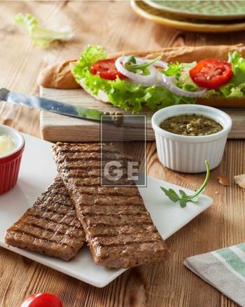 Salsiccia di suino – Grigliata rettangolare – cotta