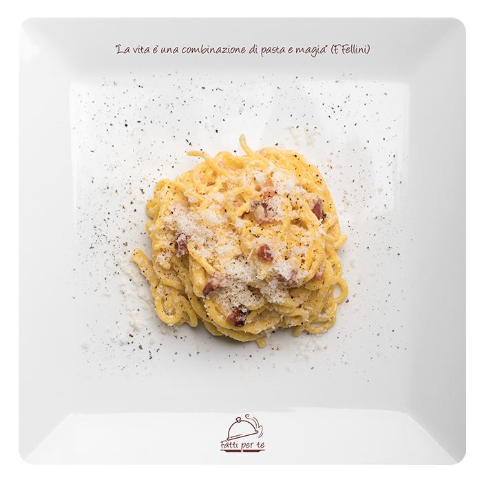 Pasta Fresca all'Uovo – Spaghetti alla Carbonara